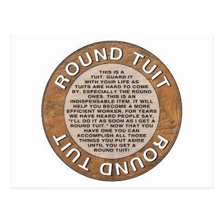 Round Tuit Postcard
