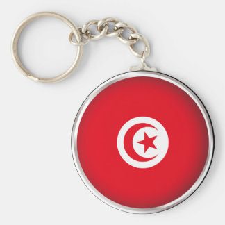 Round Tunisia Key Ring