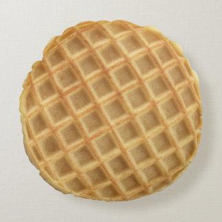 Round Waffle Pillow