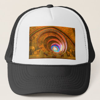 Round Window Mathias Church Budapest Trucker Hat