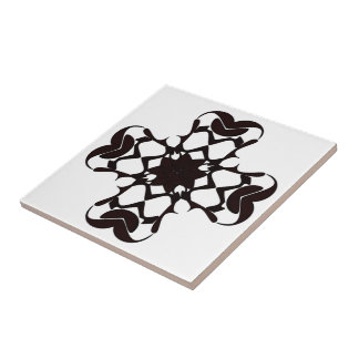 ROUNDED CROSS SMALL SQUARE TILE