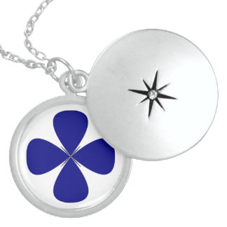 ROUNDED CROSS STERLING SILVER NECKLACE