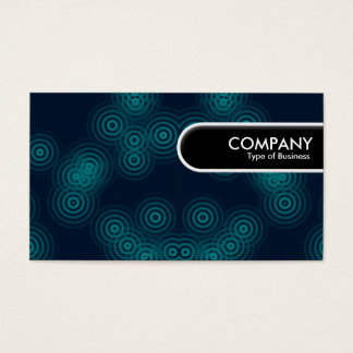 Rounded Edge Tag - Electric Rain Business Card