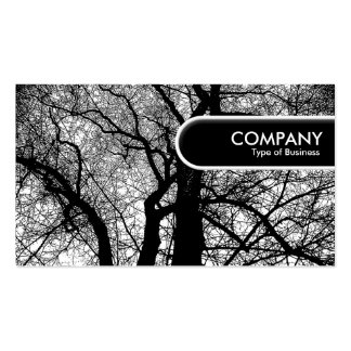 Rounded Edge Tag - High Contrast Tre Pack Of Standard Business Cards