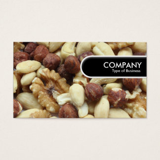 Rounded Edge Tag - Mixed Nuts