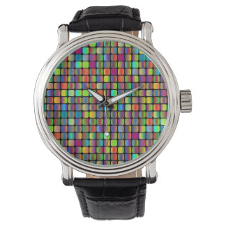 Rounded Squares Watch