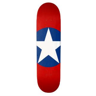 Roundel de Chile Skate Deck
