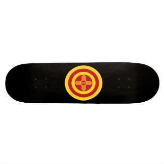 Roundel of Albuquerque Skate Board