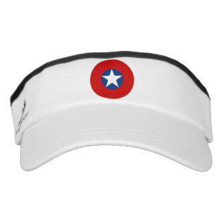 Roundel of the Chilean Air Force from 1918 to 1930 Visor