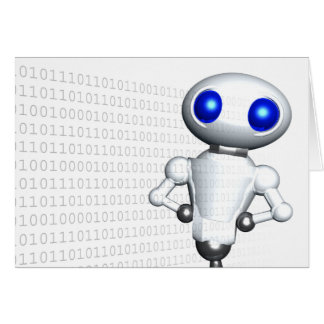 ROUNDER WITH BINARY CODE CARD