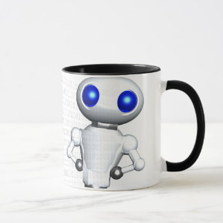 ROUNDER WITH BINARY CODE MUG