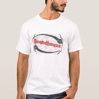 Roundhouse with background T-Shirt