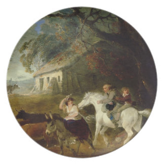 Rounding up before the Storm, 1805 (oil on panel) Plates