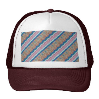 ROUNDS Chakra Blue SPARKLE Strip Elegant GIFTS Trucker Hats