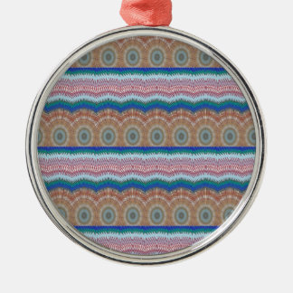 ROUNDS Chakra Blue SPARKLE Strip Elegant GIFTS Christmas Ornament