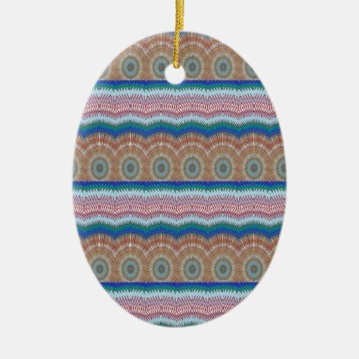 ROUNDS Chakra Blue SPARKLE Strip Elegant GIFTS Ornament