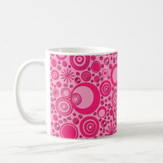 Rounds, Two Toned Pink Coffee Mug