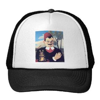 Rousseau - Portrait of Pierre Loti Man with Cat Cap