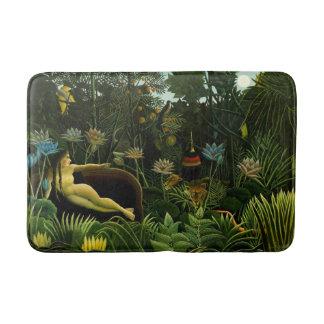 "Rousseau's ""The Dream"" art bath mats"
