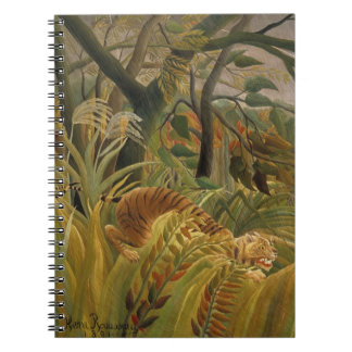 Rousseau's Tiger notebook