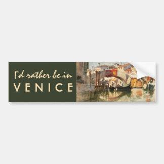 Roussoff's Venice bumpersticker Bumper Sticker