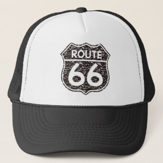 Route66 classic trucker hat