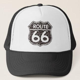 Route66 classic trucker hat