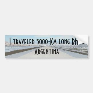 Route 40 (Ruta Cuarenta) Argentina, Patagonia Bumper Sticker