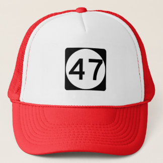 Route 47, New Jersey, USA Trucker Hat