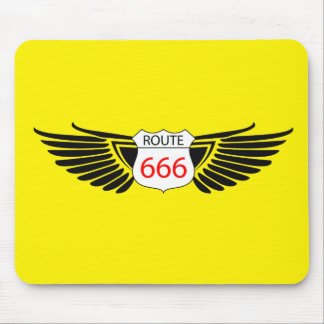 route 666 mouse pad