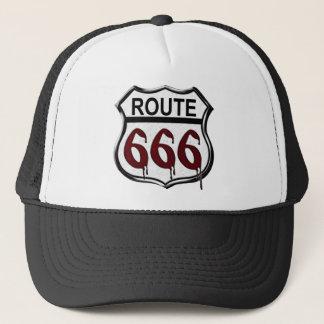 Route 666 trucker hat