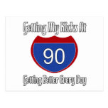Route 66 90th Birthday Post Card