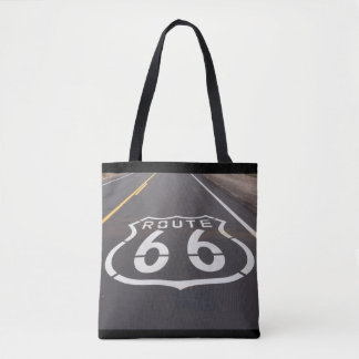 Route 66 All Over Print Tote