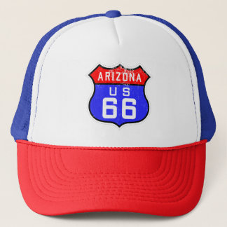 Route 66 Arizona US Design Trucker's Hat