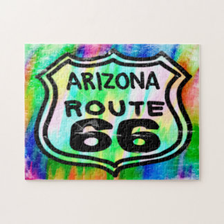 Route 66 Art Deco Arizona. Jigsaw Puzzle
