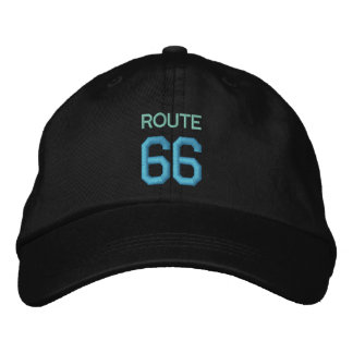 ROUTE 66 cap Embroidered Hats