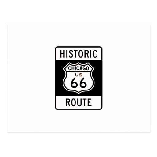 Route 66 Chicago Post Cards