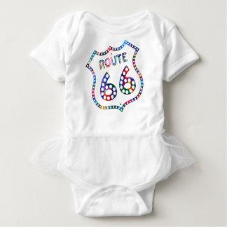 Route 66 color splash! baby bodysuit