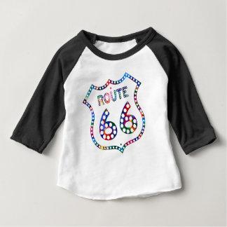Route 66 color splash! baby T-Shirt