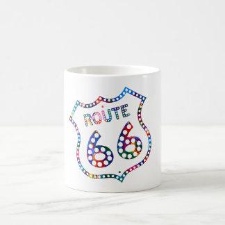 Route 66 color splash! coffee mug