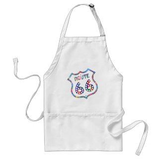 Route 66 color splash! standard apron