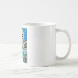 Route 66 Corner Cafe Wall Coffee Mug