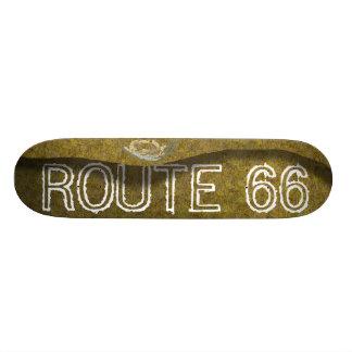 """Route 66 Diesel"" Skateboard"