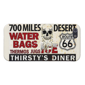 """Route 66 Festival """"Thirsty's Diner"""" iPhone 5/5s iPhone 5 Cases"""