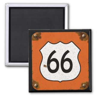 Route 66 Highway Sign Magnet