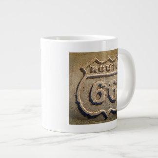 Route 66 historic sign, Arizona Giant Coffee Mug