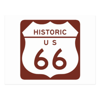 Route 66 - Historic US Postcard
