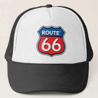 Route 66 Logo Trucker Hat