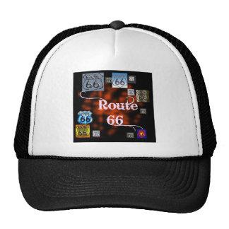 Route 66 Mix Mesh Hats