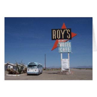 Route 66 Motel California Card